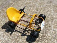 Go-kart a pedali Giordani anni 80 nuovo fondo di magazzino