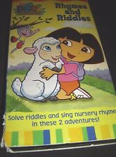 Dora the Explorer - Rhymes and Riddles (VHS, 2003)