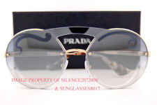 b1bd95d70f Brand New Prada Sunglasses PR 65TS ZVN 0D0 Pale Gold Brown Silver Mirror  Women