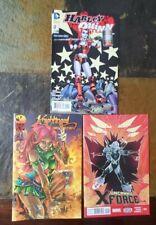 Comic book Lot of 3 - Harley Quinn, Uncanny X-Force & Knightingail