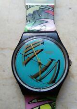 """orologio swatch STANDARD GENT modello """"FIGUEIRAS"""" GB 125 anno 1989 USATO RARO"""