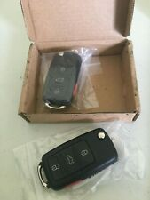 Pack of 2 ECCPP 315MHz Uncut 4 Button Remote Key Fob Replacement for Volkswagon