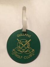 Vintage Rare Gullane Golf Club Golf Bag Tag - East Lothian, Scotland - A Beauty!