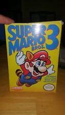 Super Mario Bros. 3 NES Nintendo System Video Game In Box Complete