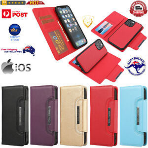 Flip PU Leather Case with Holder& Card Slots& Wallet& Photo Frame For iPhone 13