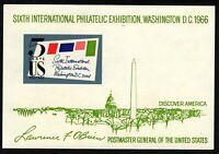 Scott #1311 1966 6th International Philatelic Expo $.05 SIPEX MINT