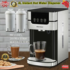4L Electric Digital Instant Hot Water Boiler Dispenser Kettle Machine+2x Filters