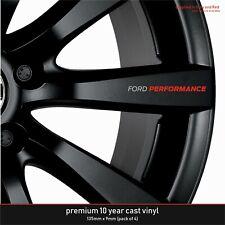 Ford Performance Premium 10 Year Cast Vinyl Decals Stickers x 4