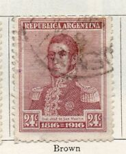Argentine Republic 1916 Early Issue Fine Used 24c. 095953