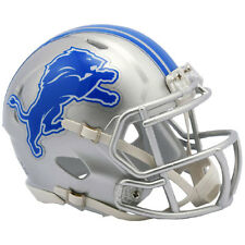 DETROIT LIONS NEW 2017 RIDDELL NFL MINI SPEED FOOTBALL HELMET