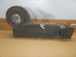 1969 JAGUAR E TYPE XKE 4.2 SERIES 2 LHD HEATER BOX (AIR CON)