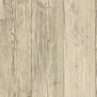 Grey Wide Wooden Planks Wallpaper NT5881