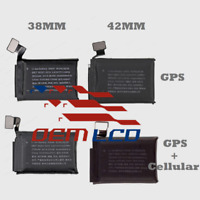 Battery Replacement for Apple Watch Series 3 38mm 42mm GPS Or LTE w Adhesivetape