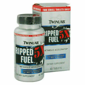 Twinlab Ripped Fuel Tablets - 40 Count *AMINO FUEL CLONE*