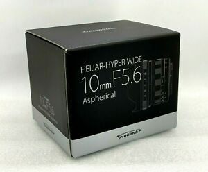 New Voigtlander Heliar-Hyper Wide 10mm f/5.6 Aspherical Lens for Sony E