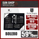 100% Genuine! STANLEY ROGERS Bolero 56 Piece Cutlery Set! RRP $299.00!