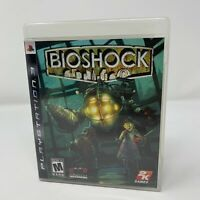 BioShock Sony PlayStation 3 PS3 Game Complete With Manual Tested