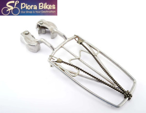 Classic Pletscher Bicycle Alloy Front Pannier Rack Silver