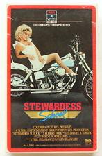STEWARDESS SCHOOL ~ BRAND NEW Sealed BETA TAPE ~ 80's Cult Teen Comedy ~ T&A