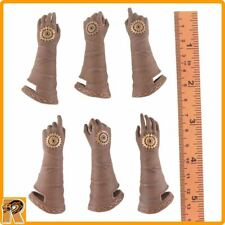 Steampunk Red Sonja - Female Gloved Hands - 1/6 Scale TBLeague Action Figures