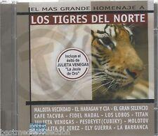 Mas Grande Homenaje A Tigres Del Norte CD NEW Maldita Vecindad Cafe Tacvba y MAS