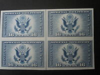 1934 -  Air Post Special Delivery Imperforate - Scott Catalog #771  MNH