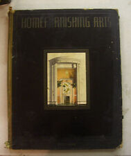 """Home Furnishing Arts"" Decor Book : Fall 1933: 11 1/2"" x 14 1/4"""