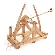 """""""Leonardo da Vinci catapulta kit modelo de madera de trabajo"""