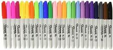 Sharpie Fine Tip Permanent Marker Pen, 24 Pack Set / Lot Assorted Colors