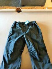 Columbia Men's XL Omni Heat Insulated Ski Pants, Black, Snow Board, Snow Mobile