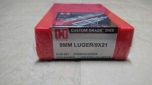 New sealed Hornady 9mm Luger Reloading Set Custom Grade Titanium Nitride 546515