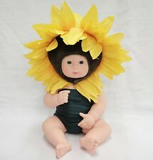 Anne Geddes Doll Sunflower Baby 2000 Unimax Jointed Body Adorable