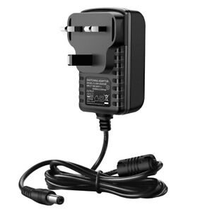 MAINS POWER CHARGE CHARGER UK PLUG FOR ECHO DOT (4TH GENERATION) SMART SPEAKER