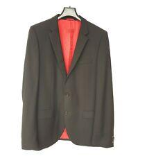 Hugo Boss Mens Black 2 Button Blazer sz 102 (XL) 100% Virgin Wool