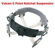 Occunomix Vulcan Cowboy Style Hard Hat 6 Point Ratchet Suspension V201