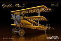 "EDUARD 1/72 FOKKER Dr.1 Triplane ""Stripdown"" 2114 (Plastic, resin, etch)"