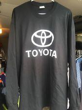 Port Toyota Black Long Sleeve T Shirt XLarge