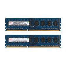8GB 2x4GB DDR3-1600MHz Desktop Memory PC3-12800 PC Computer DIMM SDRAM for Hynix