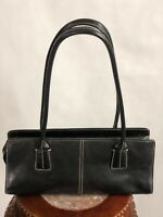 Vintage NORDSTROM Black Leather Purse Bag