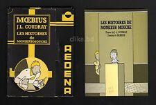 MOEBIUS, J.L. COUDRAY- LES HISTOIRES DE MONSIEUR MOUCHE Portfolio CP AEDENA 1987