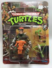 MOC Unpunched Unopened 1989 Rat King Ninja Turtles TMNT Figure
