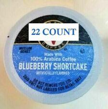 22 BLUEBERRY SHORTCAKE Victor Allen's K-Cups Brew Pods Coffee Keurig 2.0