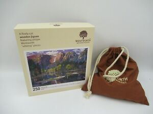 Wentworth Wooden Puzzles 250 Pieces 'Yosemite Fall' C875