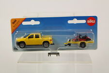 Siku SK1644 Diecast Pickup & Trailer with Cart.