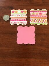 "Scrapbooking Die Cuts Square Border Frame  Shape "" X 3"