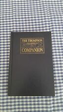 Thompson Chain-Reference Bible Companion by Howard A. Hanke (1995, Hardcover)