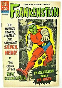 Frankenstein Collector's Iss. #2 September 1966 Dell Comics Strangest Super Hero