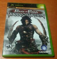 Prince of Persia Warrior Within Microsoft Xbox Ubisoft Dolby Digital Mature