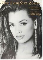 "VANESSA WILLIAMS ""THE COMFORT ZONE"" SHEET MUSIC-PIANO/V/GUITAR-1991-RARE-NEW!!"