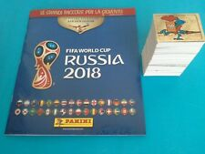 Album Vuoto Panini World Cup RUSSIA 2018 + Set Completo 682 Figurine